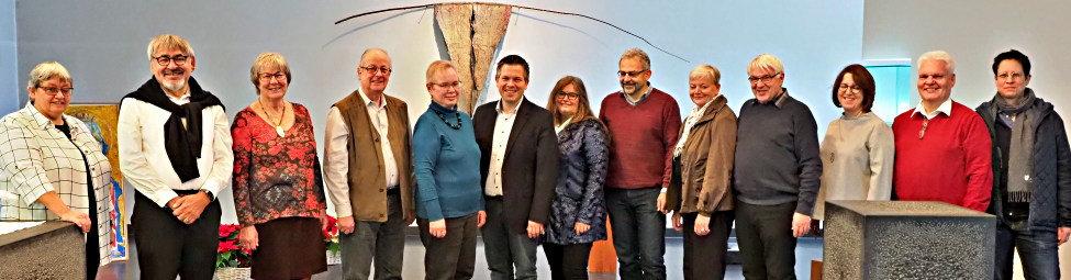 Klausurtagung des Bezirkskirchenrats in Hegne 2019  Quelle: Karl-Wilhelm Frommeyer